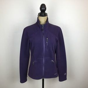 Eddie Bauer Polartec Fleece Jacket Full Zip